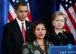 Hillary Clinton, Barack Obama, Susan Rice - Hillary Clinton and Susan Rice  Photos - Obama Announces Appointments Of Clinton, Gates, Nat'l Security  Team - Zimbio
