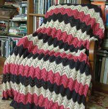 Ripple Afghan Patterns Awesome Cerise Lace Ripple Afghan AllFreeCrochetAfghanPatterns