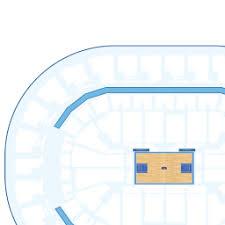 Chesapeake Arena 3d Seating Chart Chesapeake Energy Arena Interactive Basketball Seating Chart