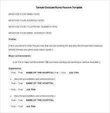Sample Of Rn Resumes Rn Resume Template Free
