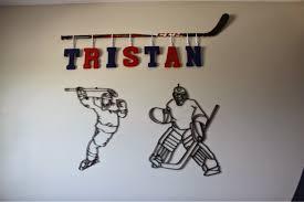 amazing hockey wall art best design interior sport print sports canvas decals canada stick