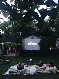 How To Host A Backyard Movie Night  Bev CooksMovie Backyard