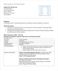 Software Resume Sample Resume Of An Experienced Software Engineer 1