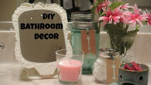 Diy Bathroom Decor Diy Bathroom Decor Easy Youtube
