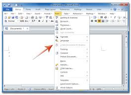 Microsoft Menu Where Is The Tools Menu In Office 2007 2010 2013 And 365