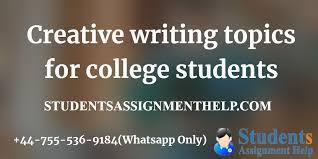 Unique College Essay Ideas 30 Creative Writing Topics For College Students Essay