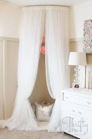 diy teen room decor ideas for girls whimsical canopy tent reading nook