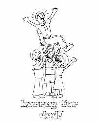 Small Picture Fathers Day cheer Free Printable Coloring Pages