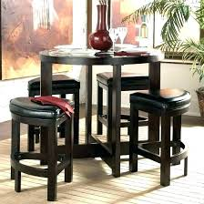 high top table and stools kitchen high table sets table round high top kitchen kitchen high