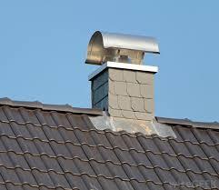 metal chimney flue cap
