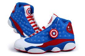jordan shoes 2019. authentic air jordan 13 captain america white blue red men shoes 2019 v
