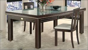 dining room table cover great tables round glass and home design regarding top for decor 9