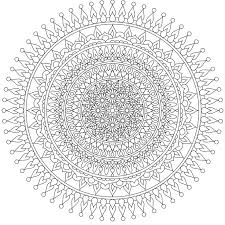 Small Picture 169 best Printable Mandalas to Color Free images on Pinterest