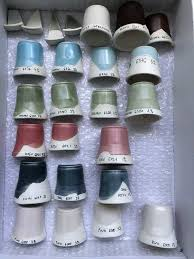 Mason Stains Samples Clay And Glaze Chemistry Ceramic