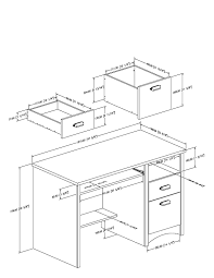 small desks home 5. Small Desk Dimensions - Best Home Office Desks Check More At Http://www 5 E