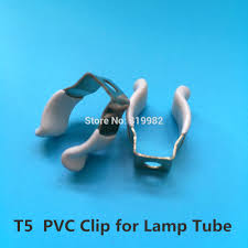 Clip On Fluorescent Light Covers Us 15 5 50 Pcs T5 Pvc U Clip Wedge Tube Lamp Base Strong Holder Connector Metal With White Cover For Led Fluorescent Light In Lamp Bases From Lights