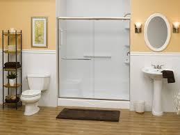 tub shower doors plan