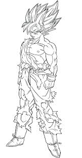 coloring pages dragon ball z coloring sheets pages 4 free printables