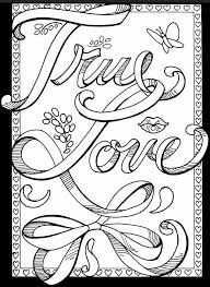 I Love You Coloring Pages For Teenagers At Getdrawingscom Free