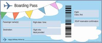 Airplane Ticket Template free boarding pass template Google Search Homeschool About 1