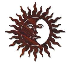 sun and moon wall decor full size of sun moon wall art hanging metal plaque plus