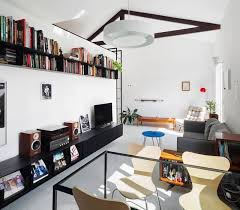 apartment design. Small Apartment Gets Reorganized With Minimal Structural Interference Design