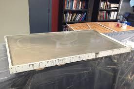 diy concrete countertops how to do concrete countertops on types of countertops