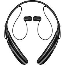 Lg Hbs 750 Tone Pro Stereo Bluetooth Headset Black Walmart Com