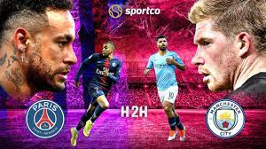 PSG vs Manchester City: Head-to-Head Record | H2H Stats | UCL History |  Previous Results | 2016
