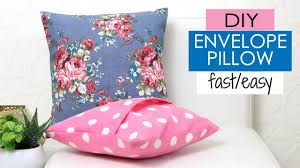 Diy Pillow Designs Diy Cushion Covers Pillow Covers How To Make A Pillow Really Fast