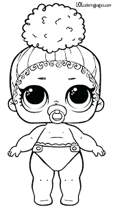Doll Coloring Pages Boss Queen Series 3 Wave 2 Surprise Page