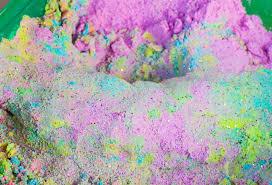 diy unicorn kinetic sand