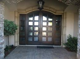 glass panel chandelier front doors for homes with curved dark wood and glass panel including black glass panel chandelier