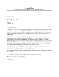 Schoolotographer Cover Letter Sample Jd Templates Job Description