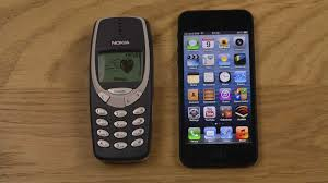 Nokia 3310 Vs Iphone 5 Lite Youtube Nokia 3310 Vs Iphone Which Is Faster
