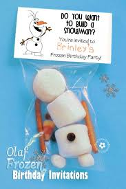 make your own frozen invitations olaf sock snowman tutorial onecreativemommy com