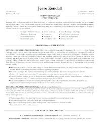 Real Sales Consultant Sample Resume Beauteous Car Salesman Resume Fresh Unique Sales Associate Examples Templates