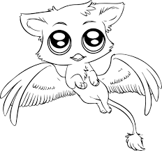 Small Picture Cute Animals To Color Coloring Coloring Pages