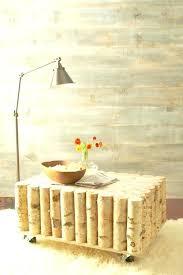 birch coffee table natural birch coffee table birch lane harlan round coffee table