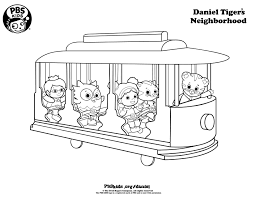 Small Picture Daniel Tiger Coloring Pages Daniel Tiger Birthday Party PBS