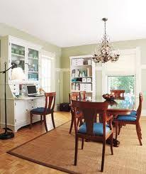 dining room and office. 14 living room and dining makeovers office a