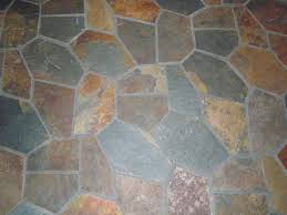 Cobblestone Kitchen Floor Slate Flooring Random Slate Tile With Heated Floor Flooring