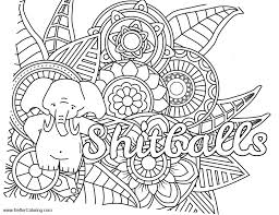 Inappropriate Coloring Pages Shitballs Free Printable Coloring Pages