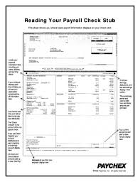 Payroll Pay Stub Template Free 21 Printable Pay Stub Template Free Forms Fillable Samples