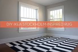 i have always really loved the ikea stockholm rug i know so does everyone but there is a reason why it is a classic and it can fit in any type of