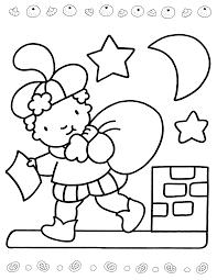 Mooi Eenvoudige Kleurplaten Sint En Piet Klupaatswebsite