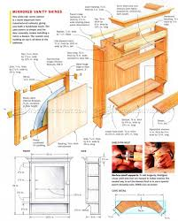 20 Vanity Cabinet Vanity Cabinet Plans O Woodarchivist