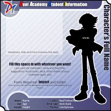 gx ygo profile template by britishmindslave on gx ygo profile template by britishmindslave