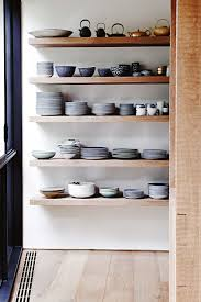 Open Shelving In Kitchen Open Shelving In The Kitchen