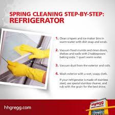 cleaning the refrigerator. cleaning the refrigerator
